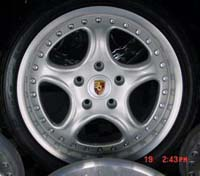 Porsche 3.6 1 pc 5 Spoke Wheels