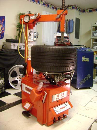 rc15a coats tire machine