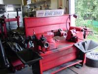Used Ammco  Brake Lathe workstation