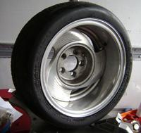 Porsche 3.6 1 pc 5 Spoke Wheels