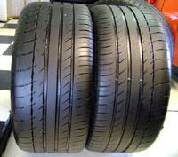 "18"" Used Michelin Pilot Sport PS2 Tires"