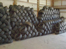 "Container of Used 15"", 16"" 17"",18"" Tires ."