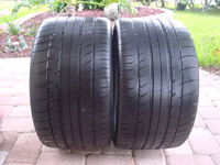 "19"" Used Michelin Pilot Sport PS2 Tires"