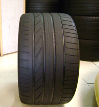 "19"" Used Bridgestone Potenza RE050A Tire"