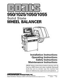 Used Coats 1050 Wheel Balancer