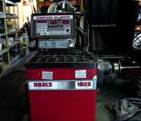 Service repair for Used Coats 1025 Wheel Balancer