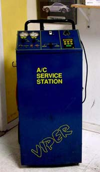 Used Viper 8012 A/C Service Station